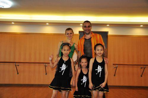 外教拉丁舞教学
